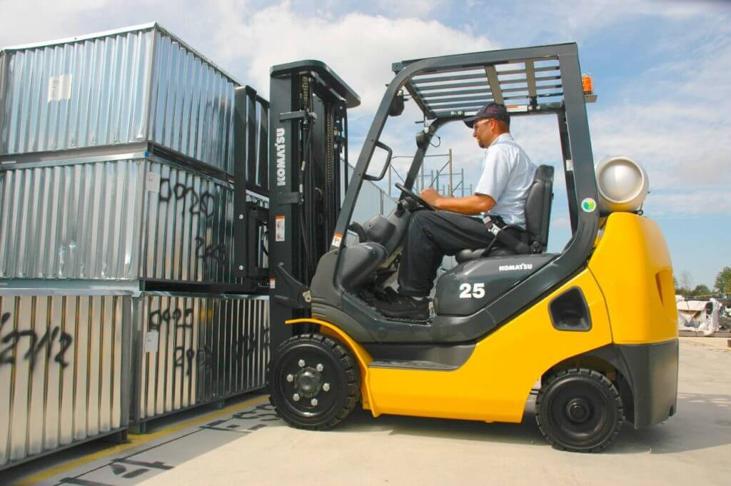 OSHA forklift certification