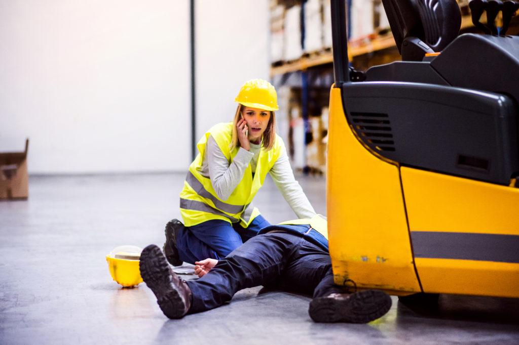 OSHA certified forklift training