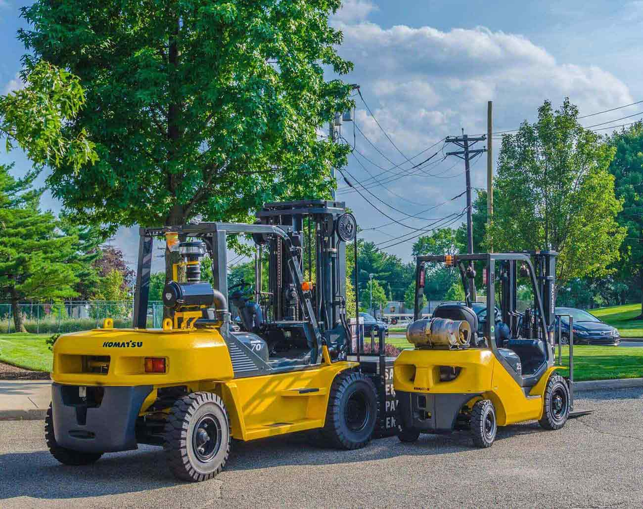 Get to Know Some Common Types of Forklifts