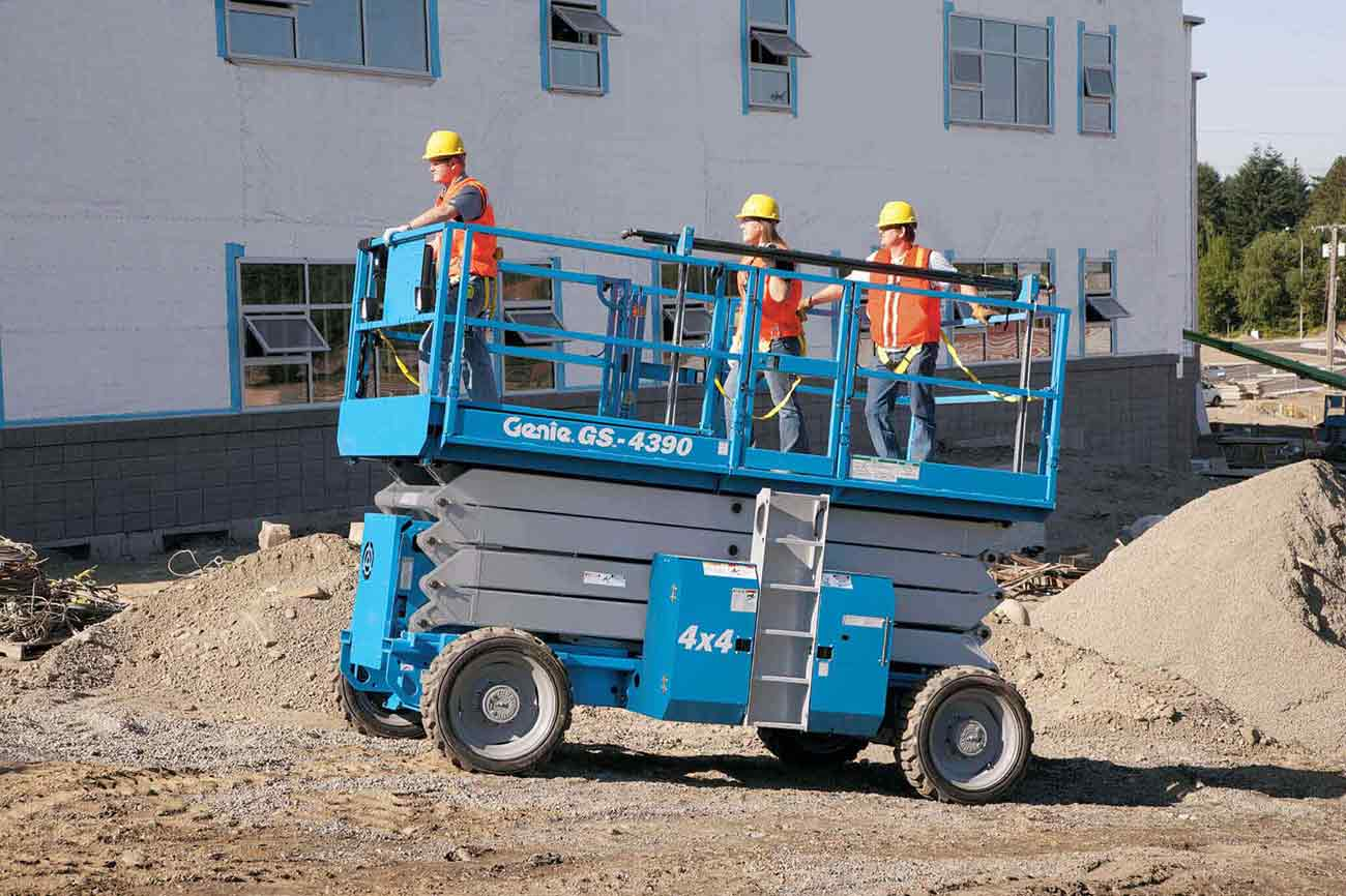 Boom Lift Truck : Aerial lifts scissor vs boom c lift truck