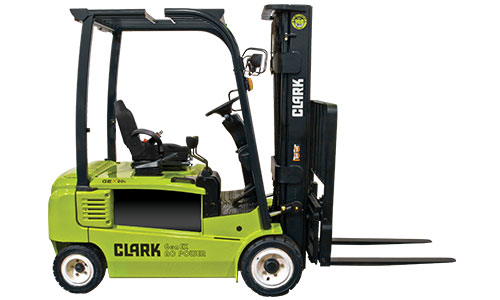 clark forklifts for rent