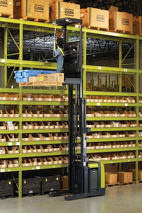 clark narrow aisle forklifts