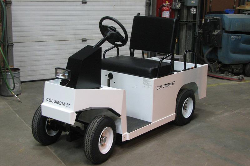 White Forklift